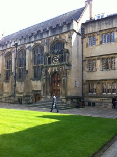 Inspector Morse's death occured here