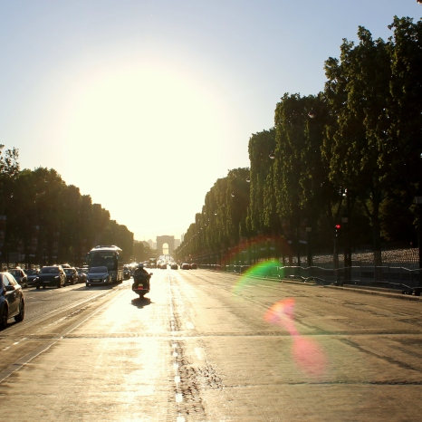 Road into Arc
