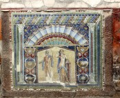 Glass mosaic, very fine art of the time