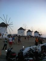Famous Grecian Windmills
