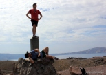 On top of an active volcanic crater