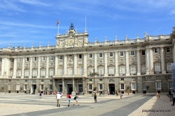 Front of palace