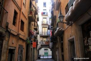 I love the little alleys
