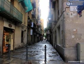 The back alleyways show of Barcelona's true beauty