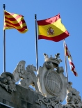 3 flags which tell the story of Spain