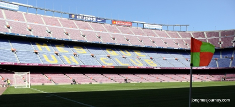 From pitchside